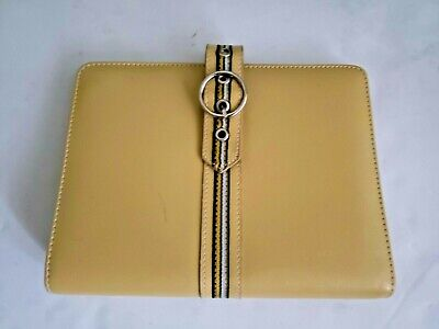 Franklin Covey Classic 365 Green Faux Leather Zipper Plannerbinder