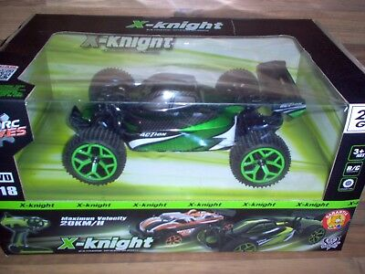 ZC RC Drives - X-Knight / 1:18 Buggy / 4WD / 20km/h / RTR - 2,4GHz / Comme Neuf