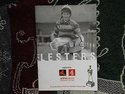 THE LESTERS - JOCKEYS ASSOCIATION AWARDS CEREMONY PROGRAMME 2004