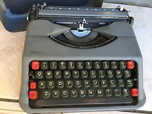 Vtg. Empire Aristocrat Typewriter // 1950's  working Tennyson Point Ryde Area Preview