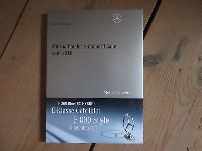Mercedes-Benz AUTOMOBILSALON GENF 2010 -Exclusive Edition für Sammler-