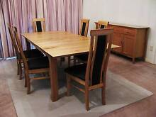 Dining Suite, inc. Table, 6 Chairs, Buffet & Side table *As New* Carindale Brisbane South East Preview