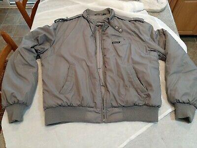 Vintage Members Only Gray Men's Jacket Size 44 winter bomber best