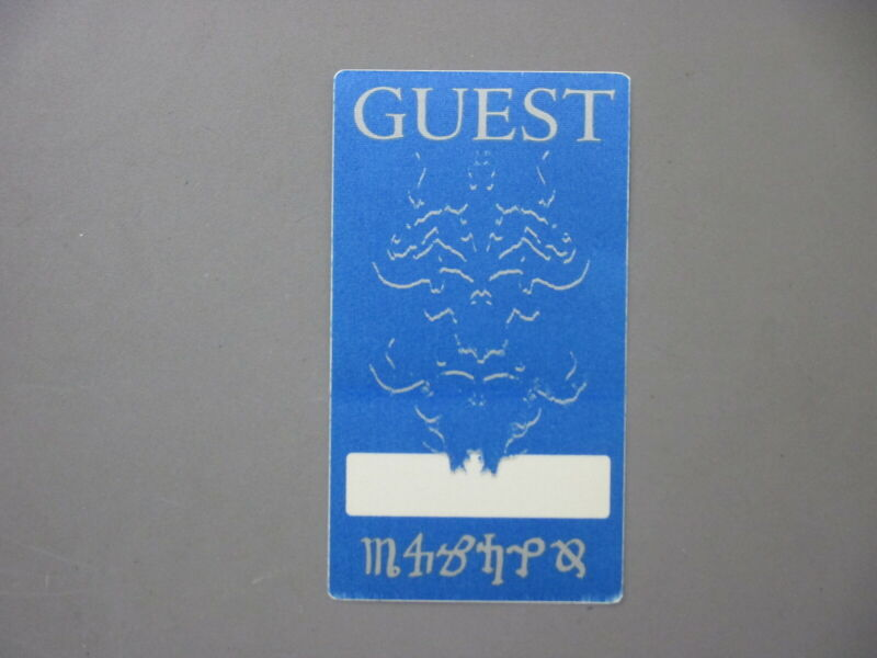 Danzig backstage pass AUTHENTIC blue Guest from Misfits!!