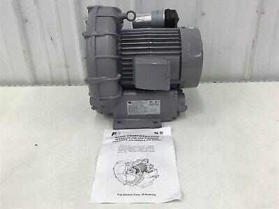 Fuji Electric - Vfc508p-2t Regenerative Blower 2.30 Hp 154 Cfm