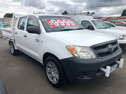 2007 Toyota Hilux Workmate Duel Cab Utility. Bayswater North Maroondah Area Preview