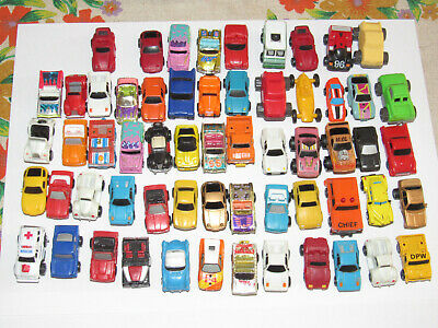 Big lot of model cars toys Micro Machines and others USED