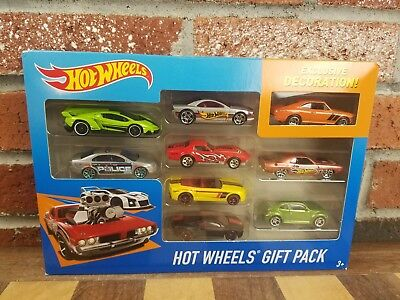 Hot Wheels 9 Car Best Collection Gift Pack  exclusive Red corvette