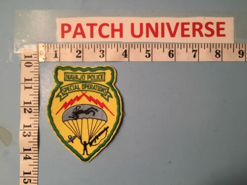 NAVAJO POLICE ARIZONA SPECIAL OPERATIONS  PATCH  N124