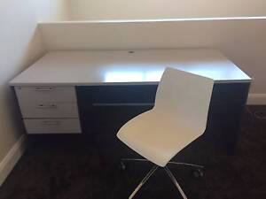 SOLID OFFICE TABLE AND CHAIR BUNDLE Pagewood Botany Bay Area Preview
