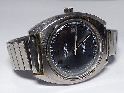 Waltham Electronic Electrodyne watch Rare Vintage