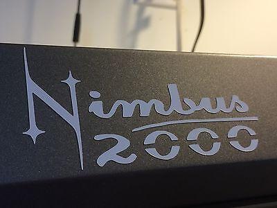 Harry Potter Nimbus 2000 Vinyl Broom Sticker Magic