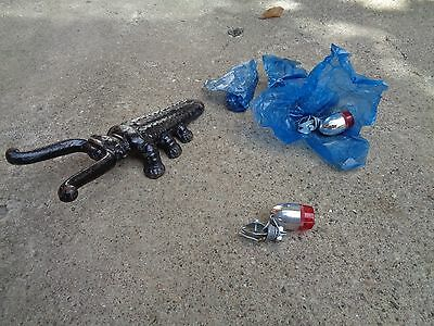 VINTAGE NOS CHROME REAR GENERATOR-OP BICYCLE/OTHER TAIL LIGHT NICE