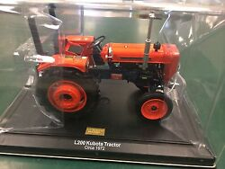 rare kubota l200 1/16 precision detail collectors limited edition tractor  1/2500