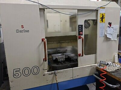 Ares-sieki S500 Mill Drill Tap Machining Center W Mitsuhishi Cnc Control
