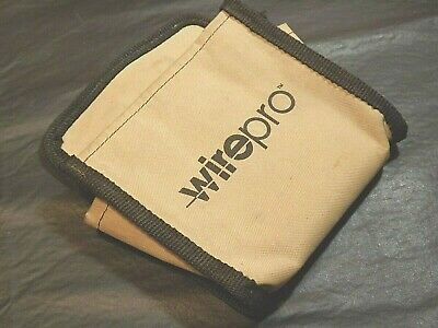 Wirepro Pouch Fits Manual Wire Wrapping Tool Ok Industries 7 By 8 In Belt Clip