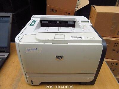 HP P2055dn A4 Mono Laser 33ppm B/W Printer Drucker USB LAN CE459A NO TONERS