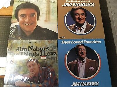 Jim Nabors X 4 The Golden Voice Of Best Loved Favorites Twelfth Of Never Things
