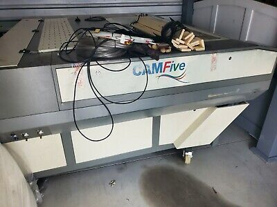 Cam5 Laser Engraver Used - Double Laser Head Retail 24999 Cma1610. 150w Dual