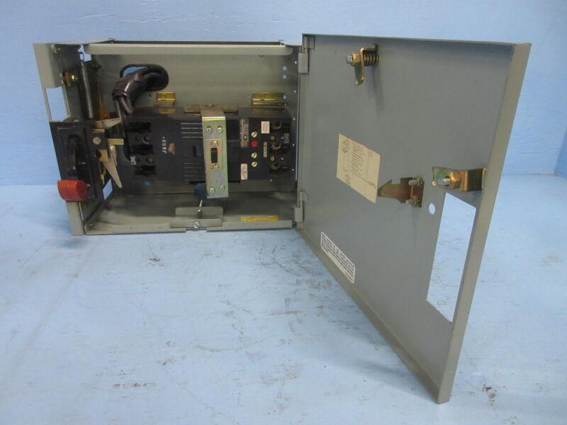 """General Electric GE 8000 200 Amp Breaker Type 12"""" MCC Feeder Bucket 200A TFK"""