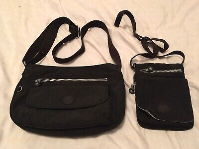 Kipling bags - El Dorado and Syro - Black