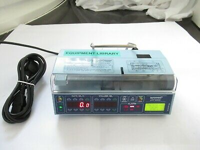 Arcomed Syramed Ag Uvp 6000 Medical Patient Syringe Infusion Pump Fluid Driver