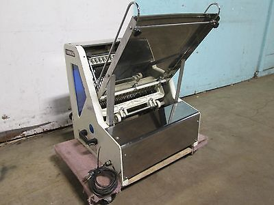 Sinmag Sm 302 Heavy Duty Commercial Counter Top Bread Slicer Machine