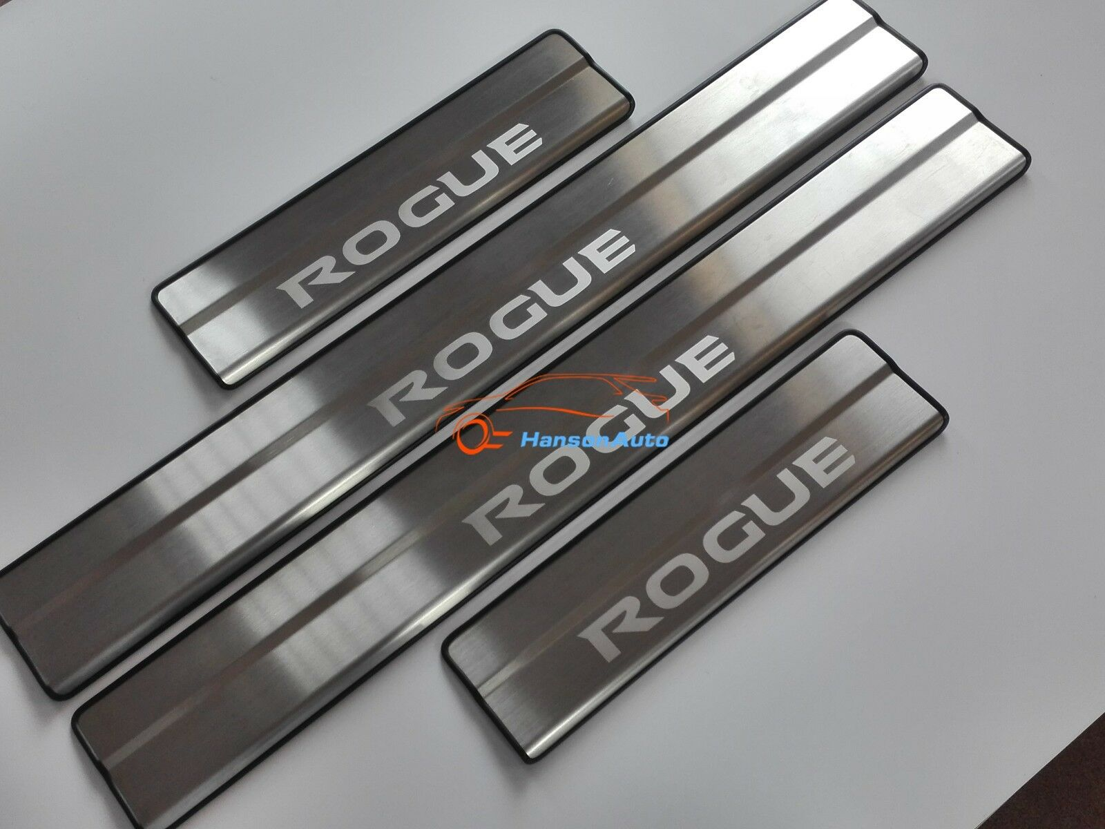 For Nissan Rogue Car Accessories Door Sill Scuff Plate Protector Guard 2014-2020