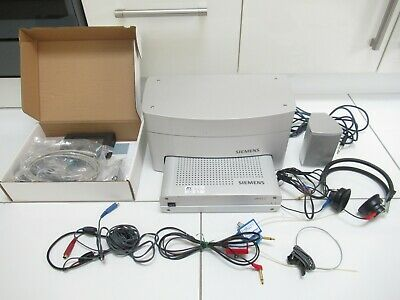 Siemens Unity 2 Audiometer Audiology Diagnostic Hearing Aid Fitting Dock System
