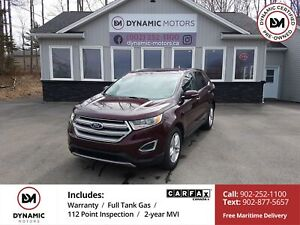 2018 Ford Edge SEL AWD! CAM! LIKE NEW! OWN FOR $194 B/W, 0 DO...