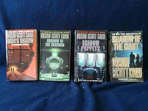 First 4 books of the Shadow Saga by Orson Scott Card South Melbourne Port Phillip Preview