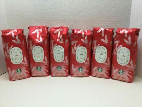 Starbucks Christmas Blend 2020 Rare Aged Sumatra, Whole Bean, Case of 6, 06/2021