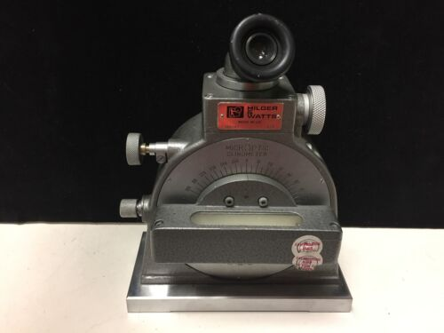 Hilger & Watts 142/43 TB100 Microptic Clinometer - EXCELLENT