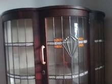 Antique half moon crystal display cabinet Camp Hill Brisbane South East Preview