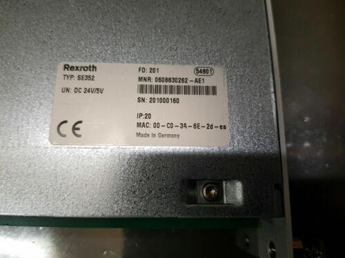 Mint Condition Rexroth SE352 PLC Control Module 0608830262-AE1