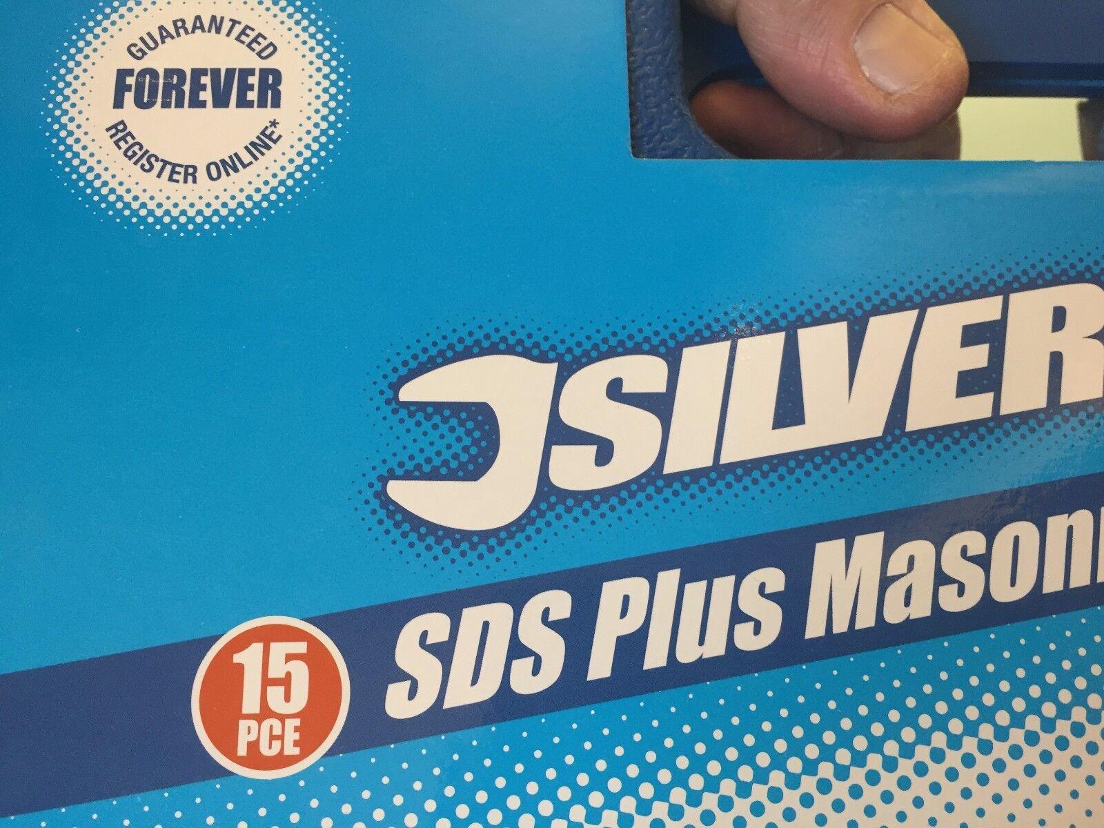 GUARANTEED Forever SDS Plus carbure de tungstène Shot microbille Foret À Maçonnerie Set