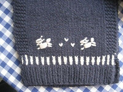 Geiger IsabellaG Wool Schal blau 200 cm lang