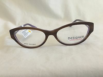 Designs for Less Eyeglass Frames Glasses Woman's RX-able FM13039-1
