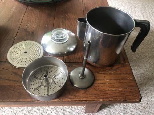 Vtg Revere Ware #1801 Copper Clad Stainless Steel Percolator