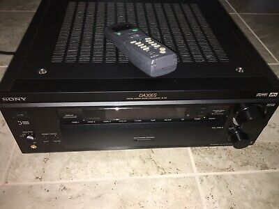 Sony Da30es AM/FM Stereo Processing System Good Condition