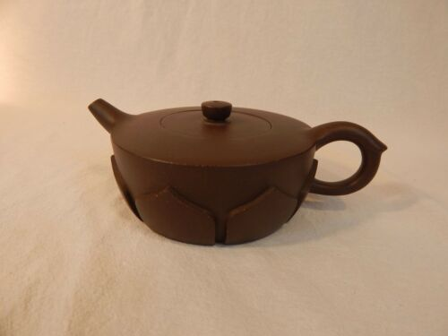 YiXing Zisha Clay Teapot by GongJv 贡局僧帽壶