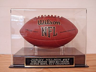 Jordy Nelson Green Bay Packers Football Case For Your Autographed Football