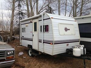 2001 14 foot bonair trailer