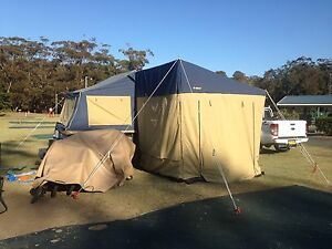 Oztrail camper 12 semi off road with extra annex Buff Point Wyong Area Preview