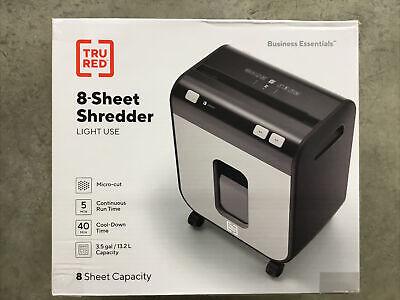 Tru Red 8-sheet Micro-cut Personal Shredder Tr-bmc8a
