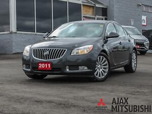 2011 BUICK REGAL CXL LEATHER/ HEATED SEATS/ BLUETOOTH/ CRUISE