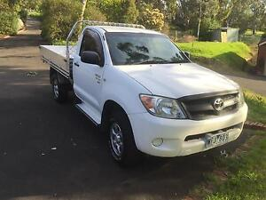2008 Toyota Hilux Single Cab Ute Campbellfield Hume Area Preview