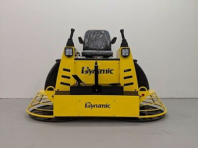 Hoc Qumh78 Honda Gx690 Hydraulic 36 Inch Ride On Power Trowel 3 Year Warranty