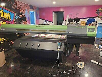 Roland Lej640ft Versauv Large Format Flat-bed Printer 2018