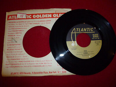 """45 RPM Record """"SOS"""" by ABBA"""